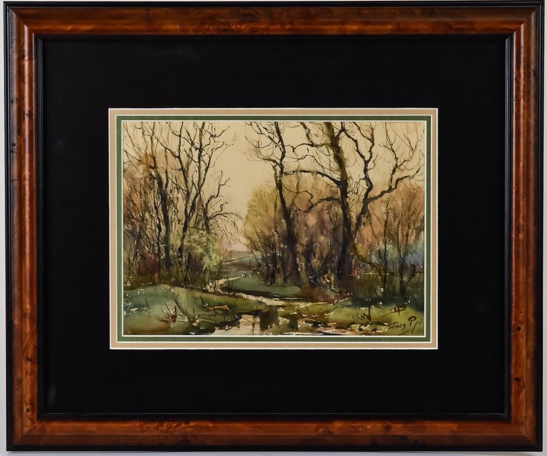 Fred Pye Watercolor