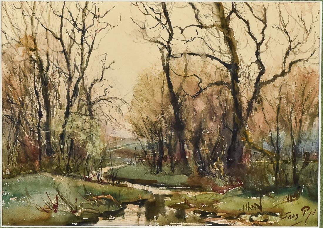 Fred Pye Watercolor - 2