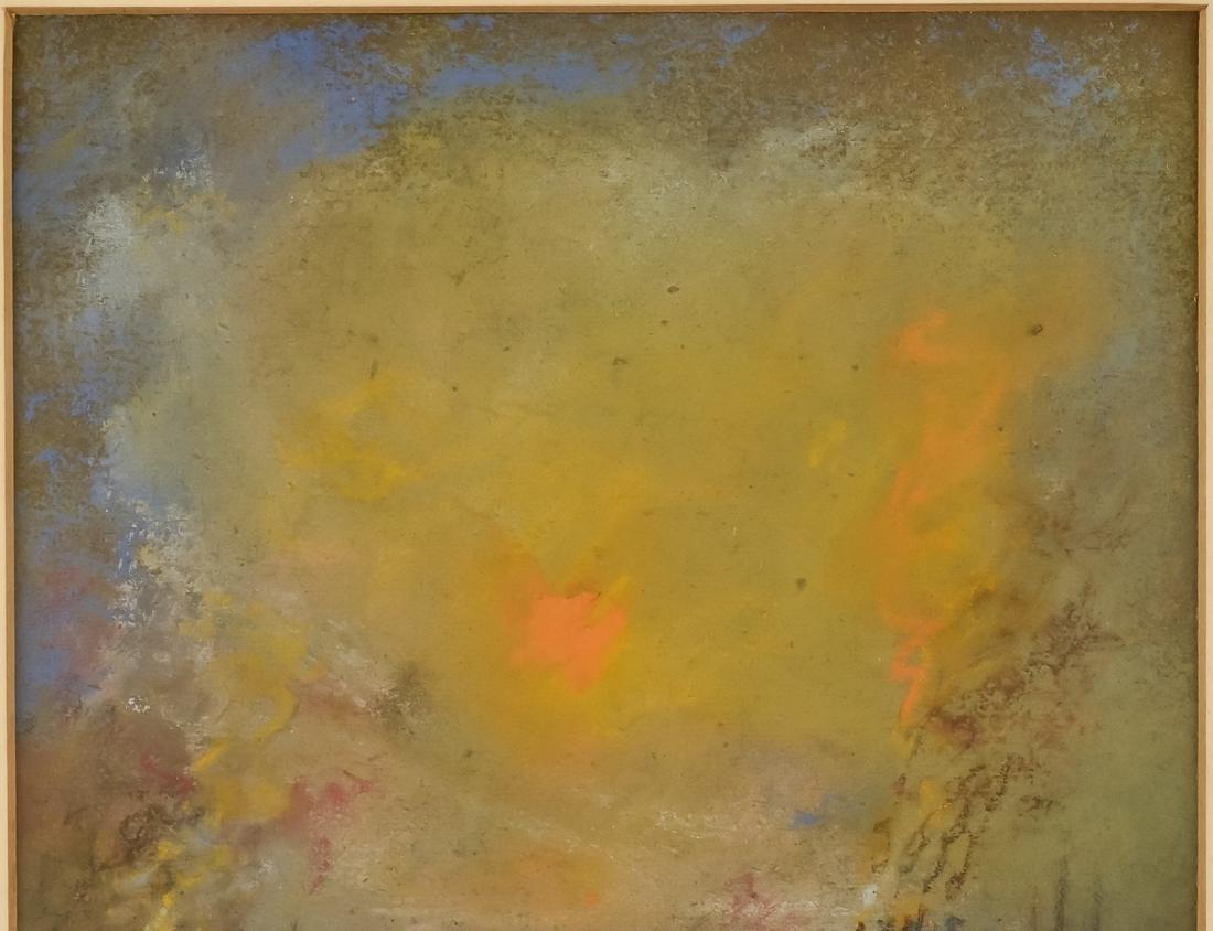 Glen C. Henshaw Pastel Industrial Landscape - 6