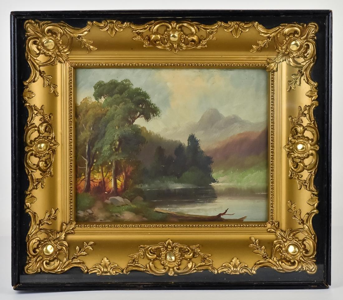 Hudson River Landscape Painting