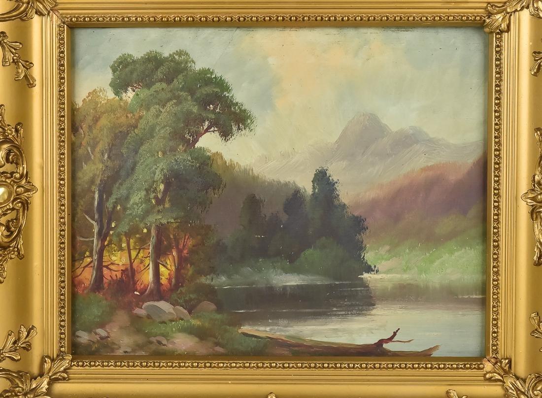Hudson River Landscape Painting - 2