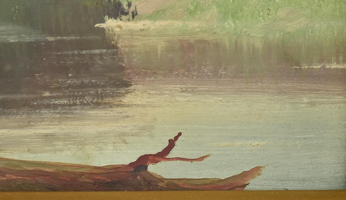 Hudson River Landscape Painting - 5