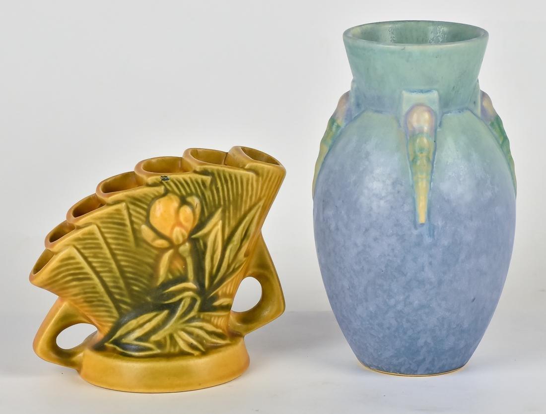 Two Roseville Vases