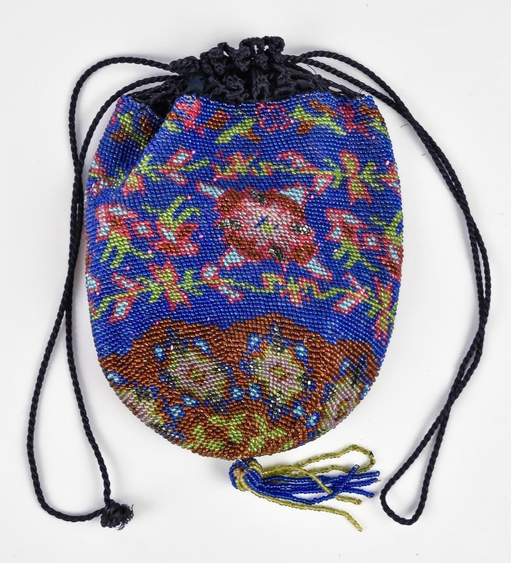 Four Early Ladies Beaded Evening Bags - 4