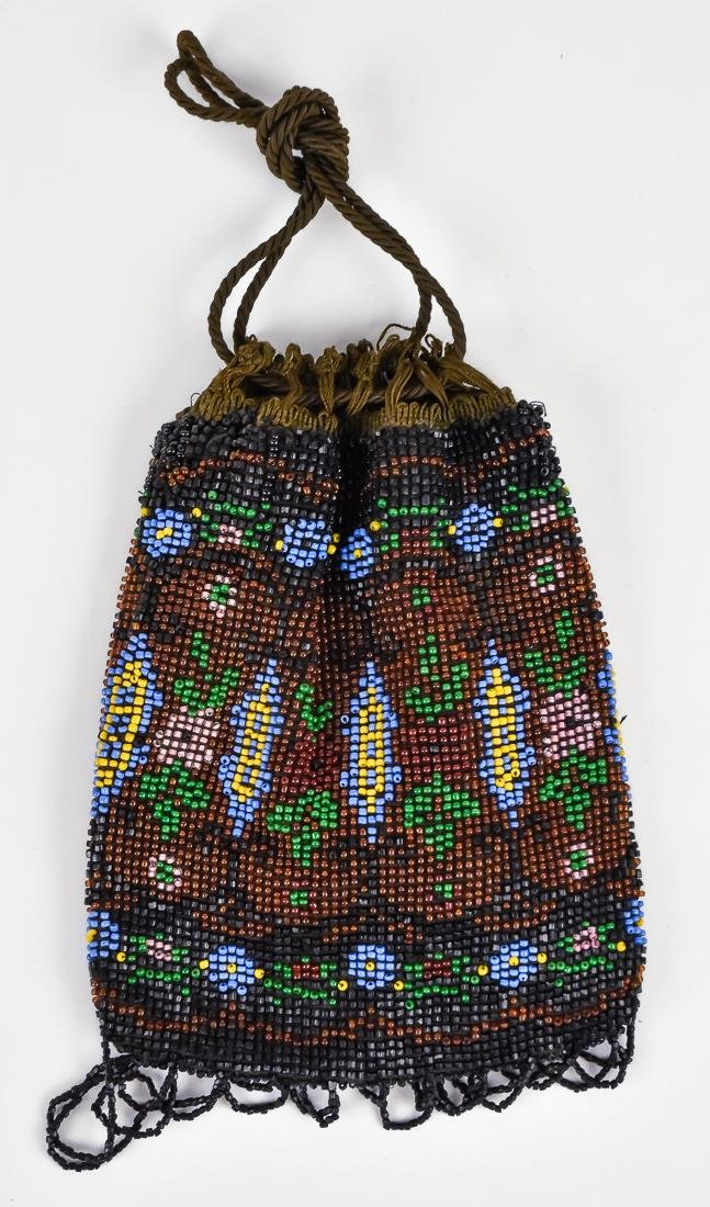 Four Early Ladies Beaded Evening Bags - 5