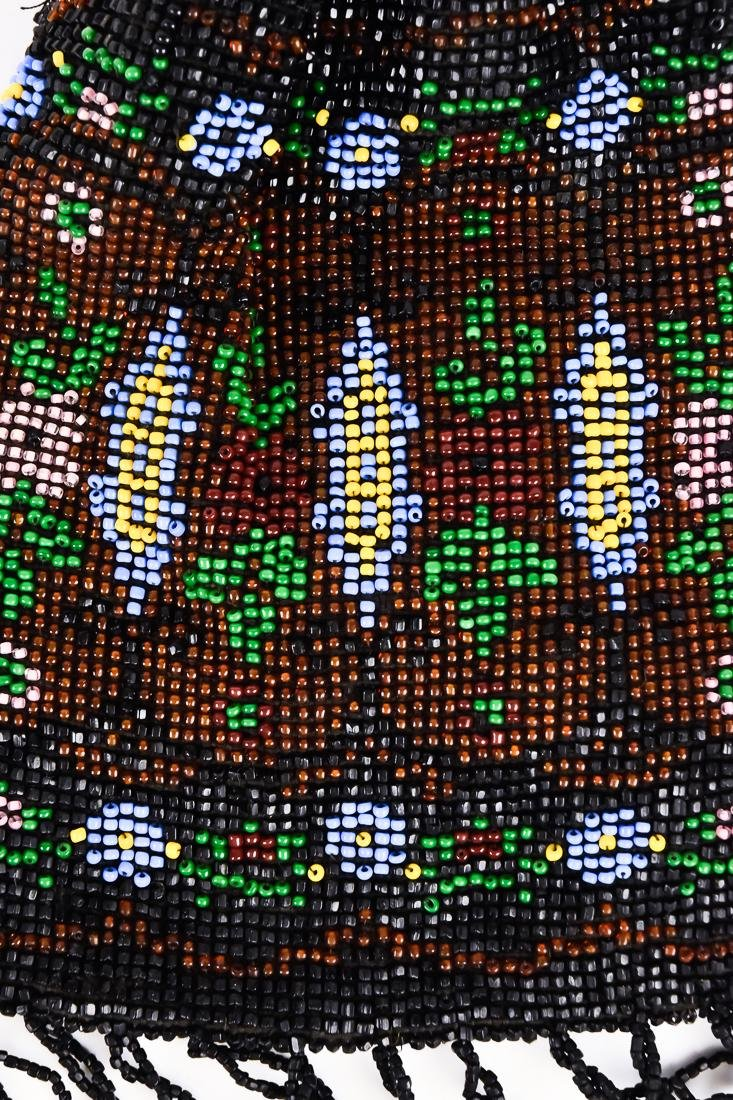 Four Early Ladies Beaded Evening Bags - 7