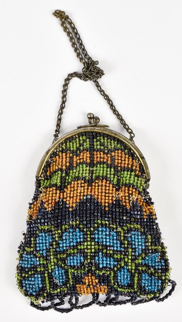 Four Early Ladies Beaded Evening Bags - 9
