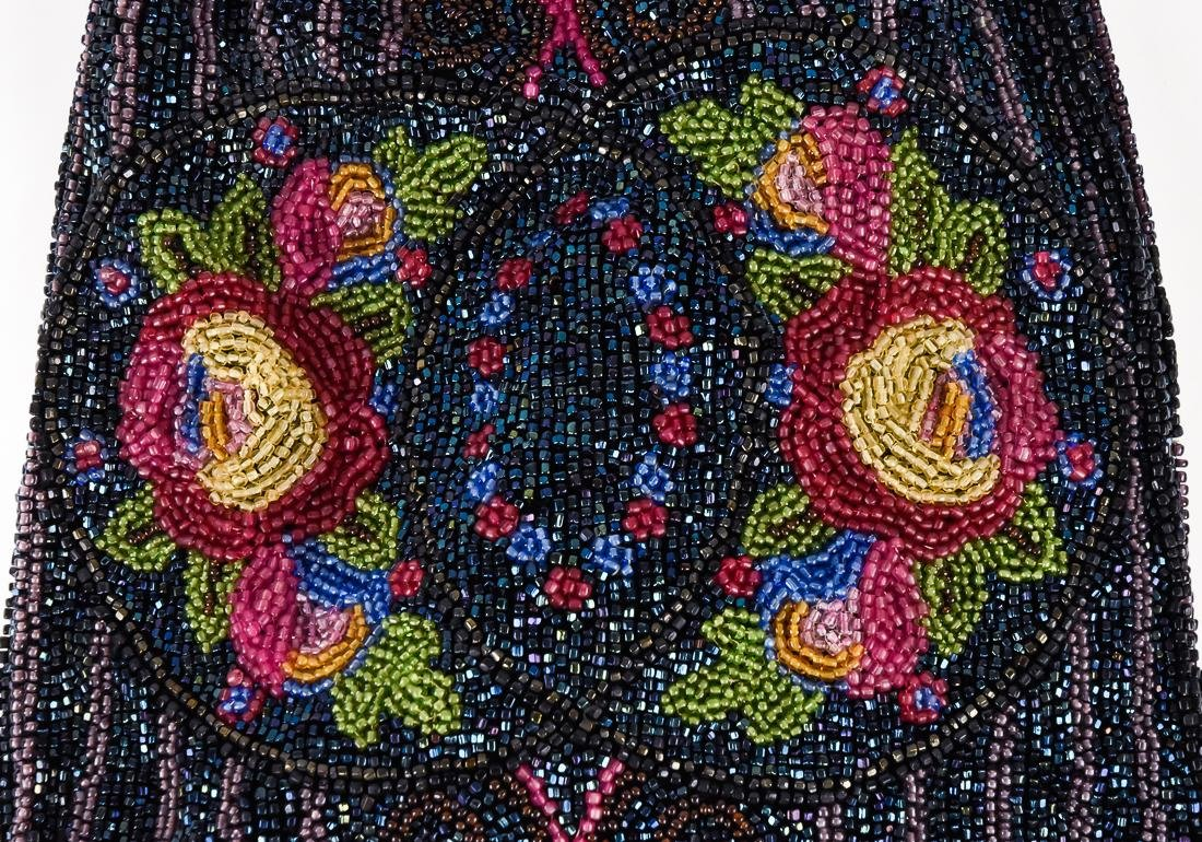 Four Early Ladies Beaded Evening Bags - 6