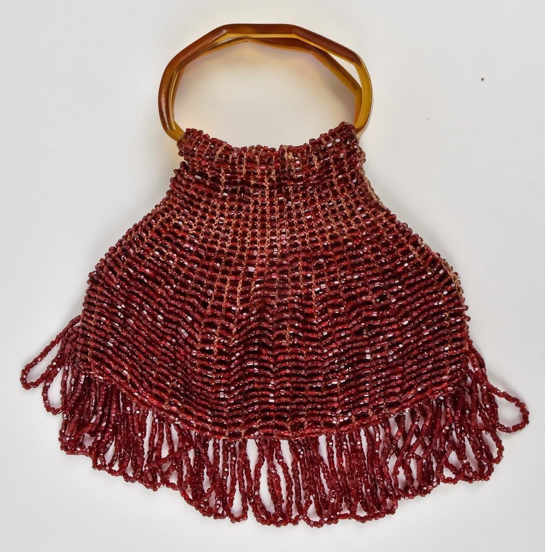 Five Beaded & Unusual Ladies Evening Bags - 5