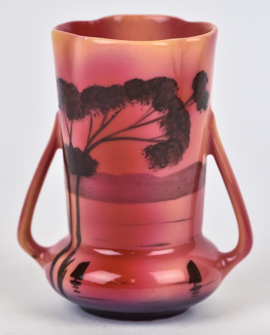 Two Royal Bayreuth Vases Plus - 8