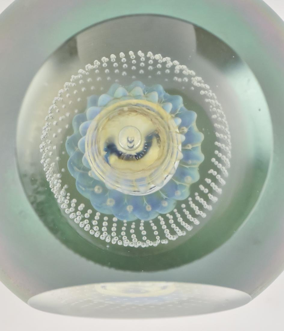 Art Glass Vase & Paperweights - 2