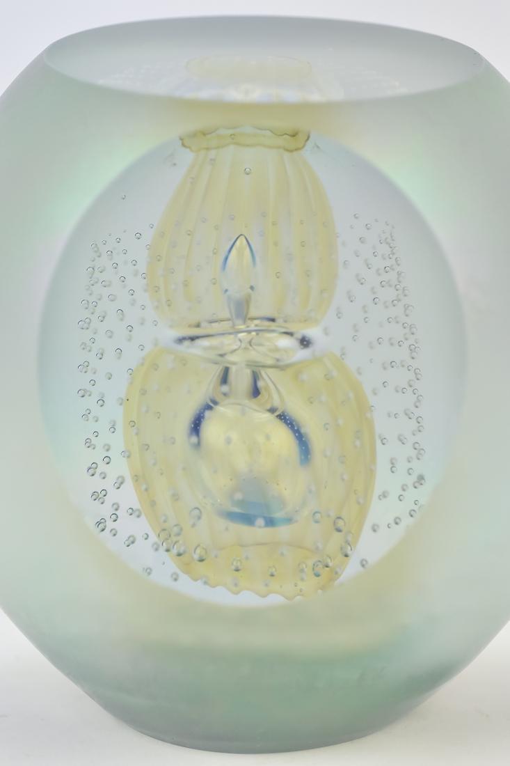 Art Glass Vase & Paperweights - 4