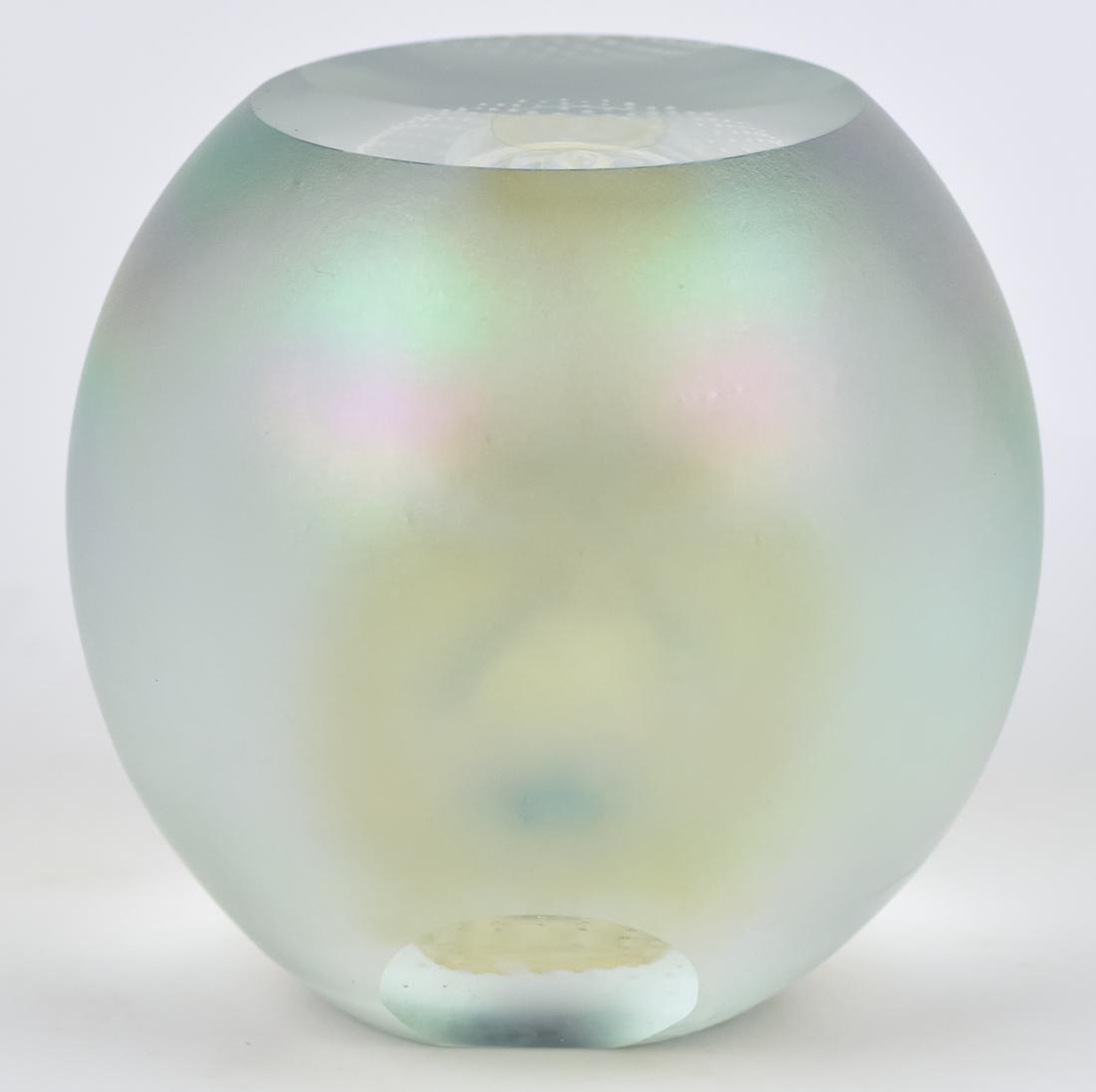 Art Glass Vase & Paperweights - 6