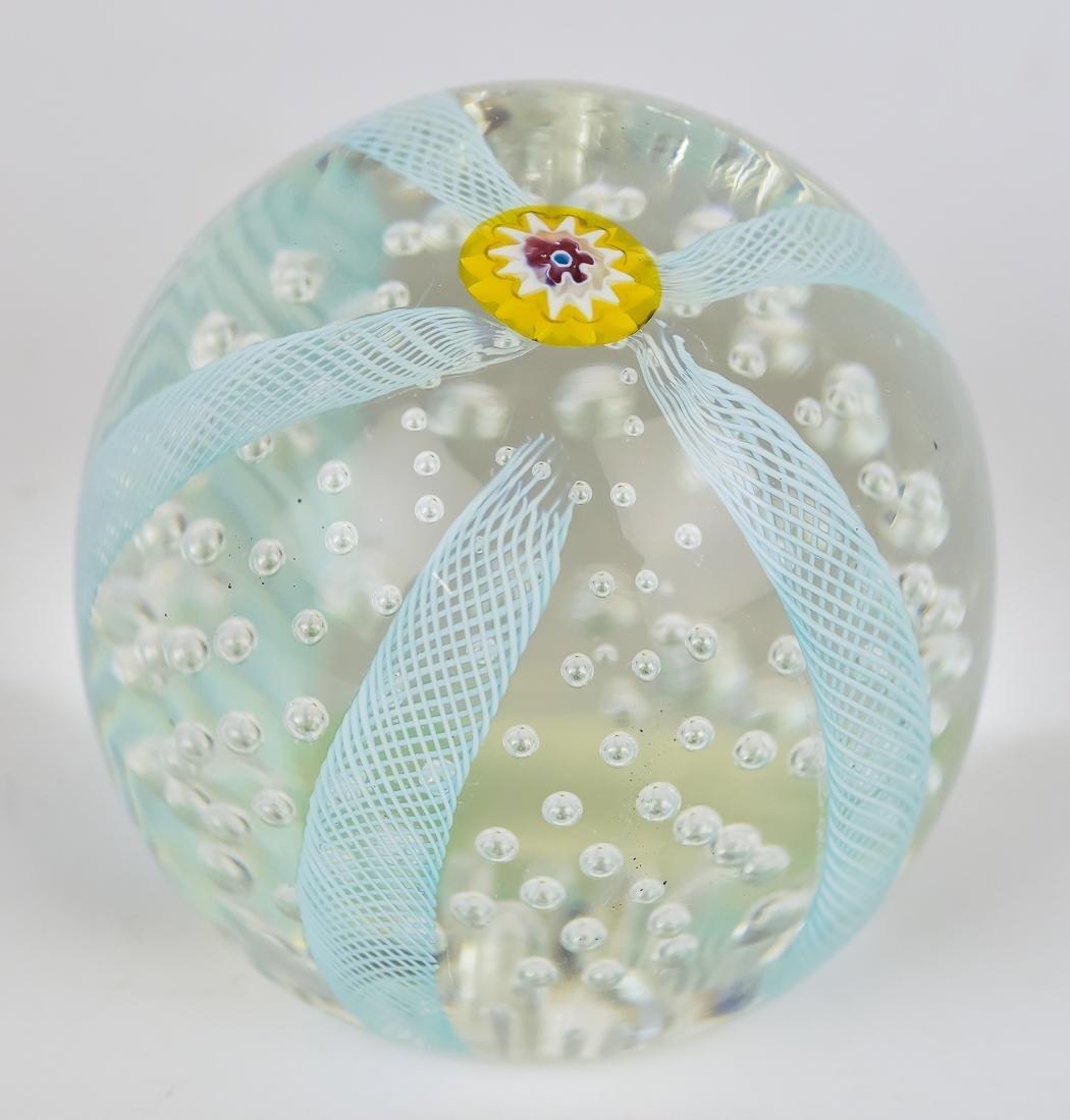 Art Glass Vase & Paperweights - 7