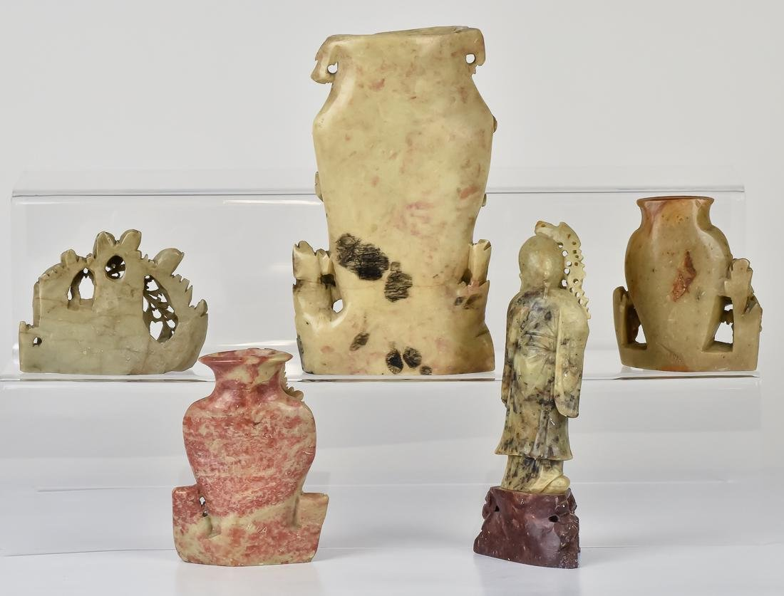 Early Chinese Soapstone Carvings - 2