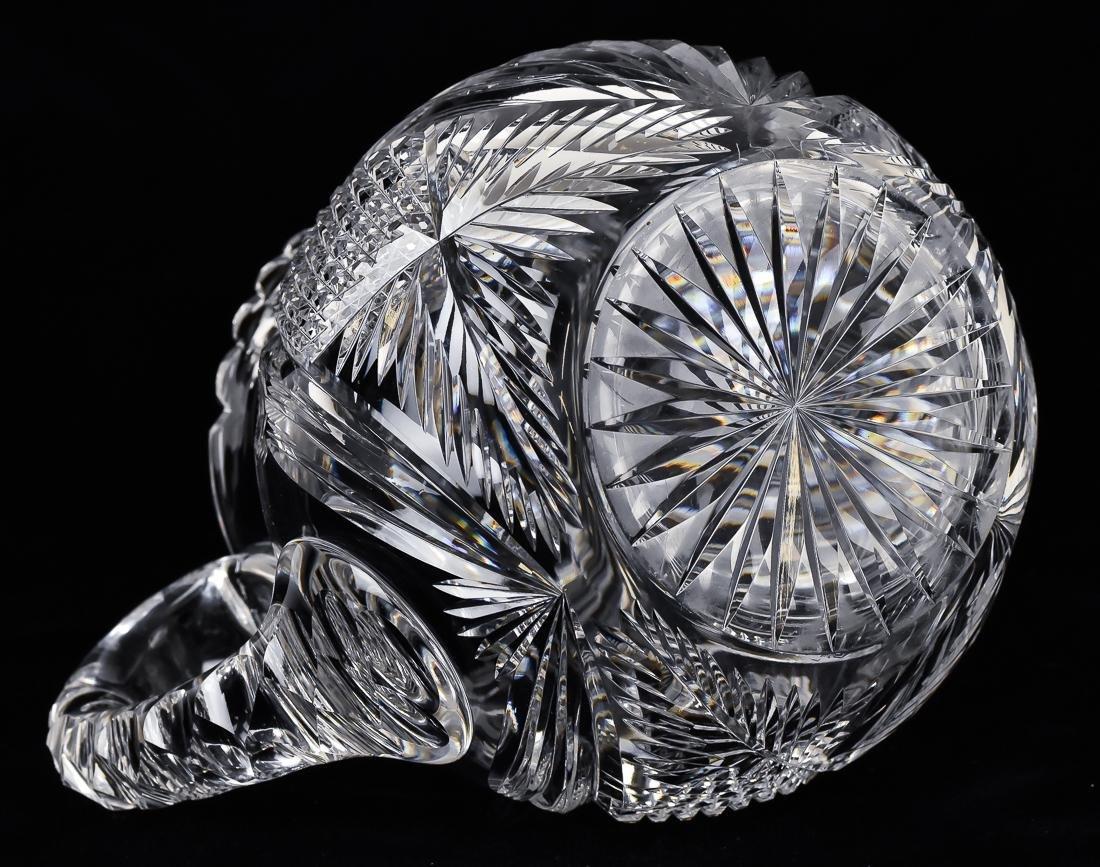 Libby Cut Glass Pitcher - 6