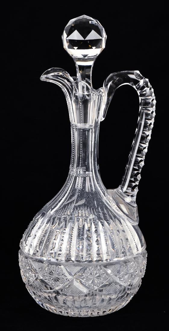 Fine Cut Glass Carafe
