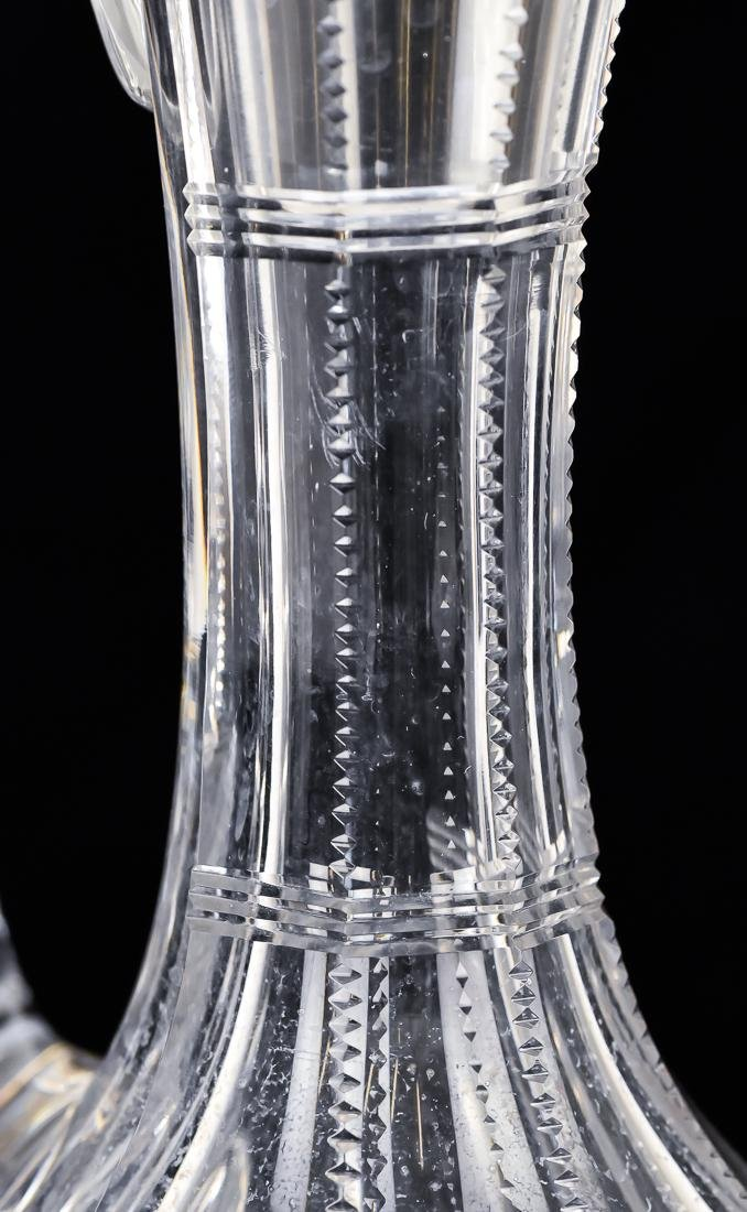 Fine Cut Glass Carafe - 9