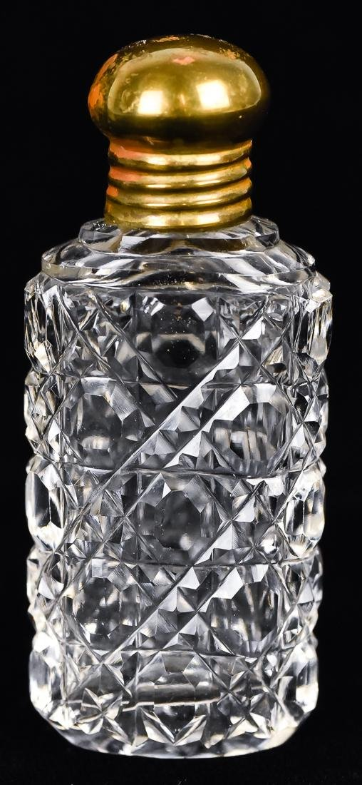 Five Cut Glass Perfumes - 6