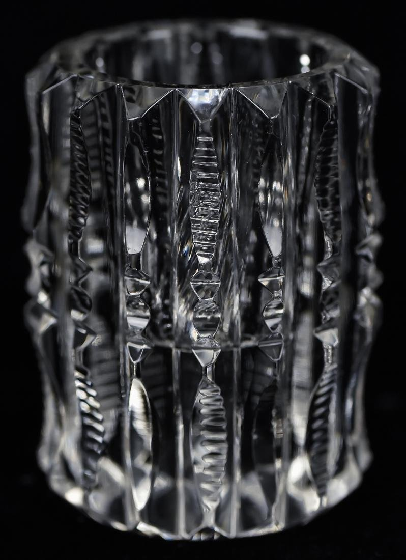 Five Pieces of Cut Glass - 5