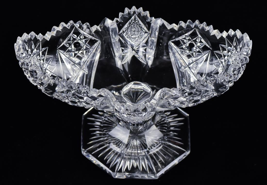 Two Pieces of American Cut Glass - 6