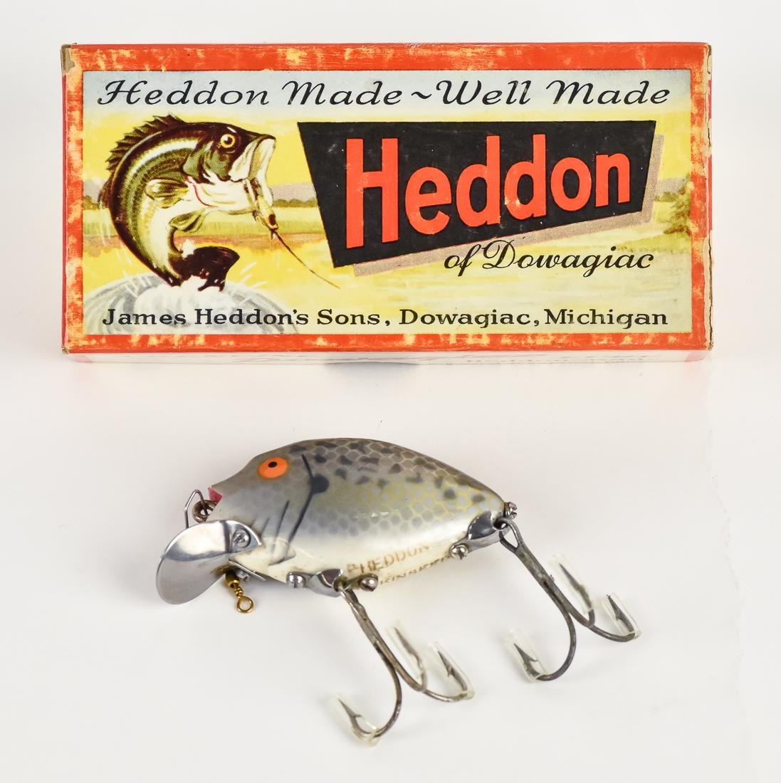 Two Heddon Punkin Seed Fishing Lures in Original Boxes - 2
