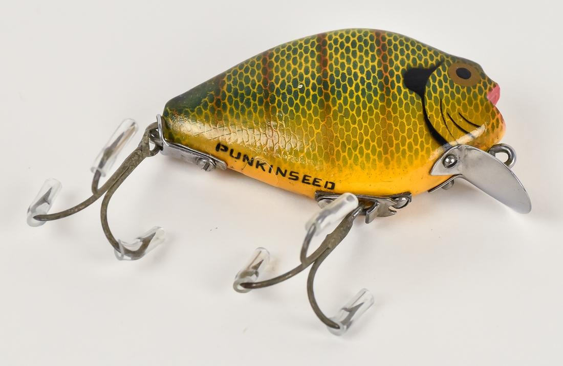 Two Heddon Punkin Seed Fishing Lures - 4