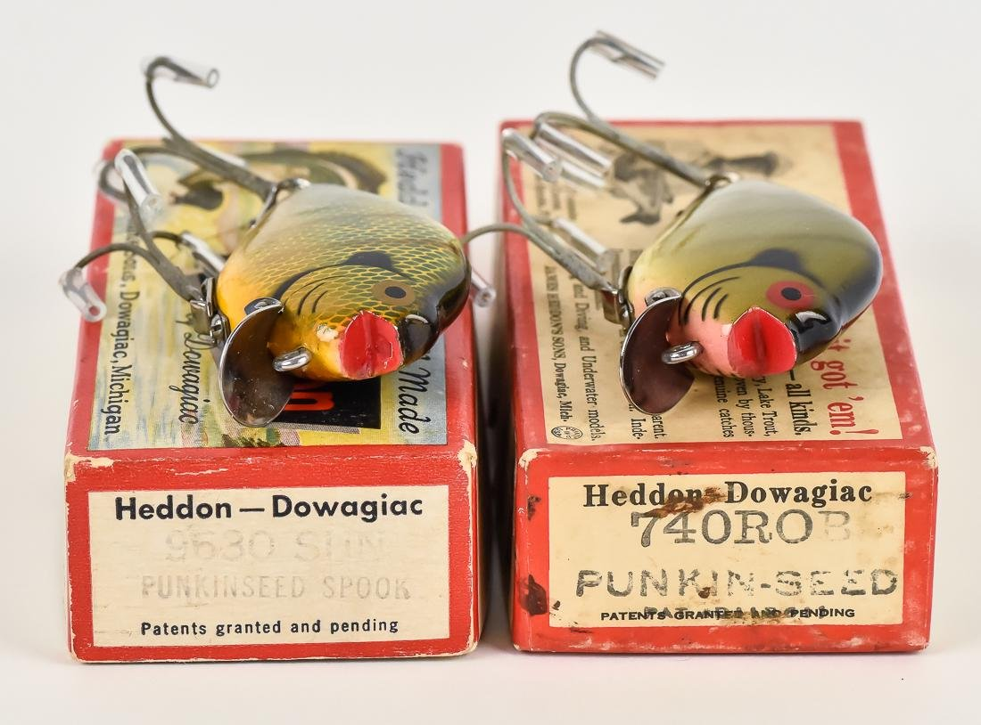 Two Heddon Punkin Seed Fishing Lures - 6