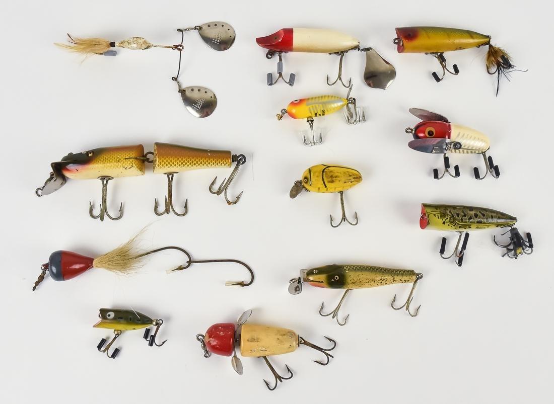 Twelve Early Fishing Lures