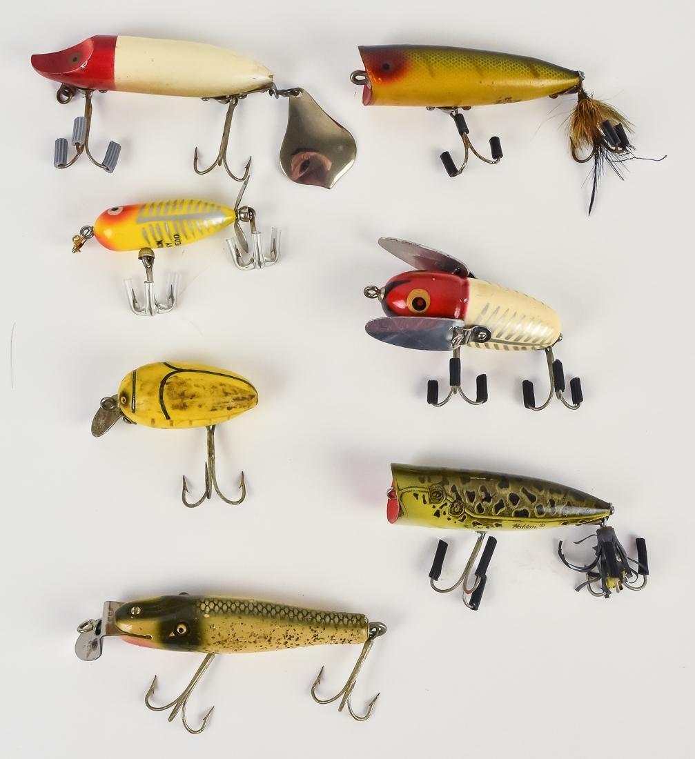 Twelve Early Fishing Lures - 2