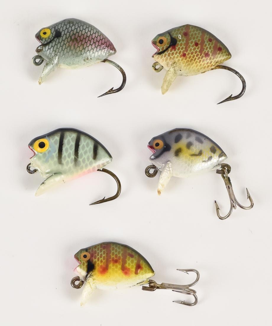 Five Heddon Punkies Fishing Lures