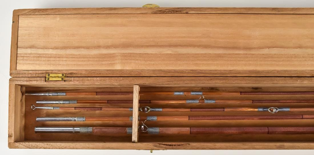 Early Boxed Bamboo Fly Fishing Rod - 3
