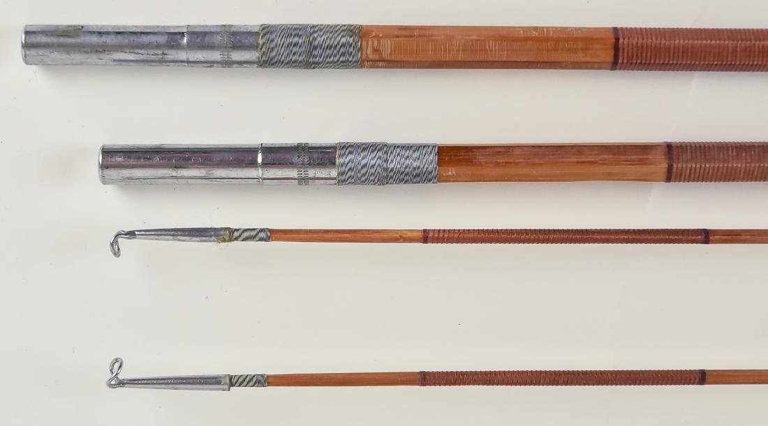 Early Boxed Bamboo Fly Fishing Rod - 9