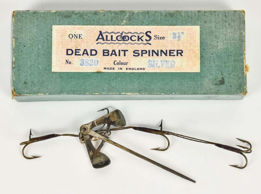 Large Lot of Early Fishing Equipment - 2