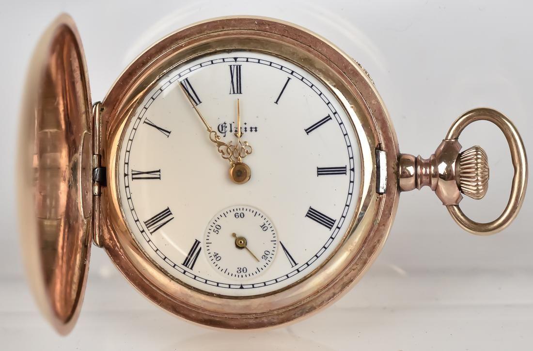 Elgin Gold Filled Ladies Pocket Watch
