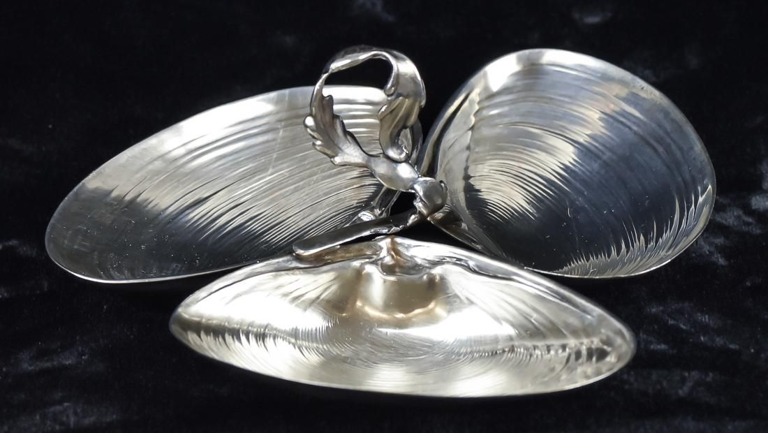 Wallace Shell Form Sterling Dish