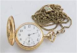 Illinois 0 Size 14K Gold Pocket Watch