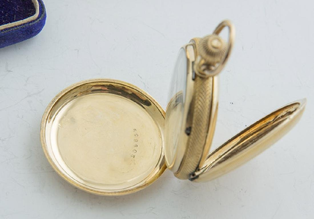 Two Elgin 6 Size Hunter Case Pocket Watches - 3