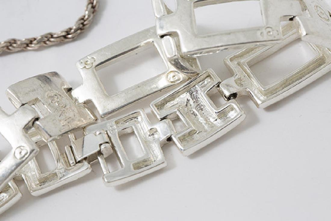 Eleven Pieces Sterling Jewelry - 8