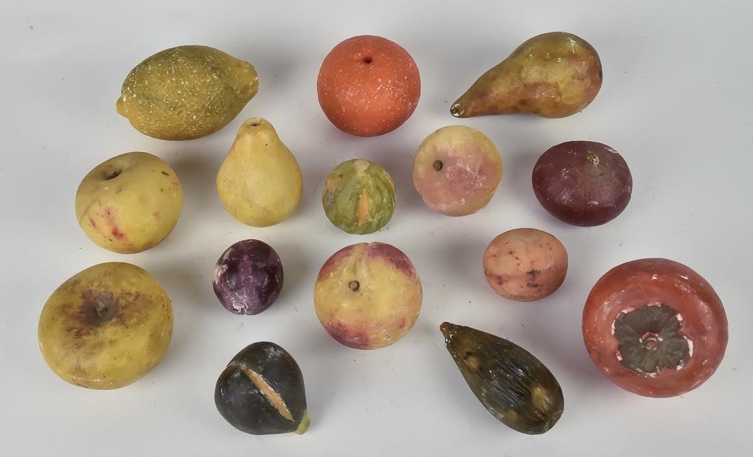 Large Group of Stone Fruit