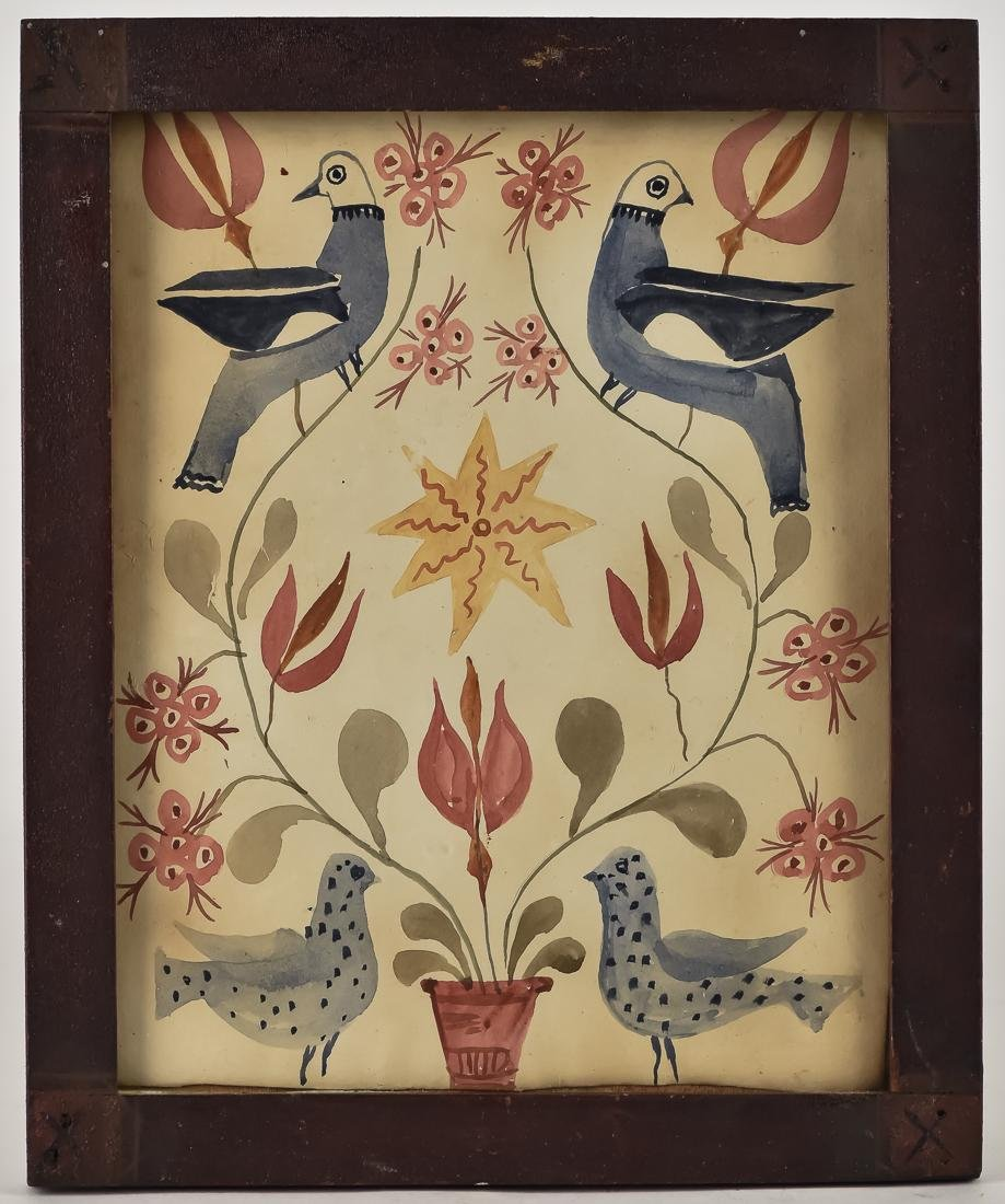 Early Fraktur Painting