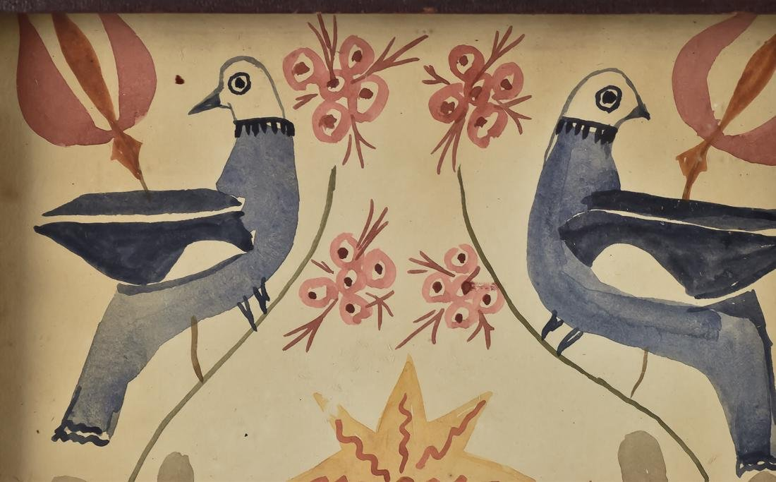 Early Fraktur Painting - 2