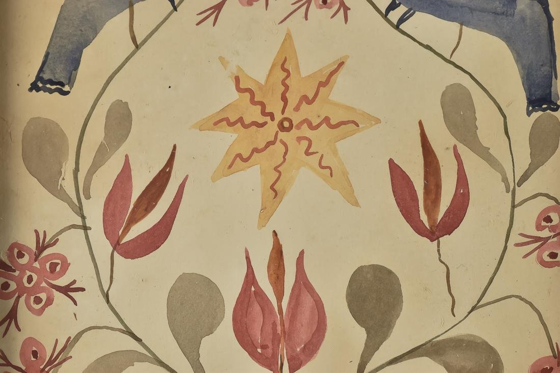Early Fraktur Painting - 3