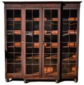 Early Philadelphia Mahogany Bookcase