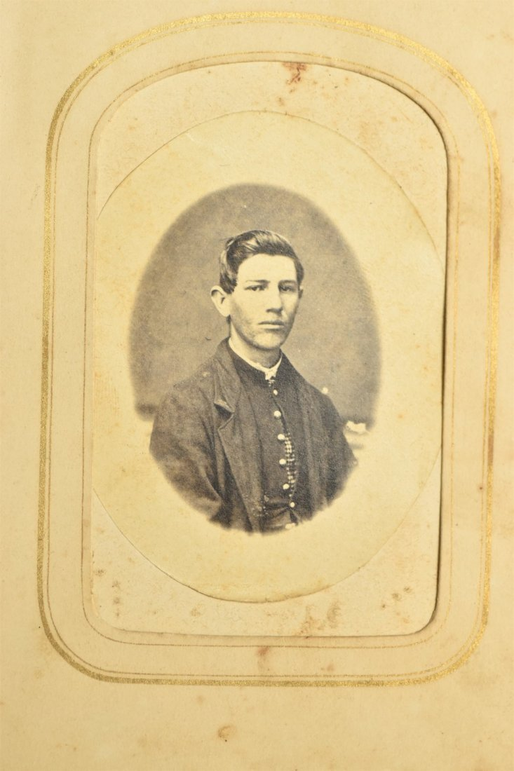 Civil War CDV Photo Album - 2