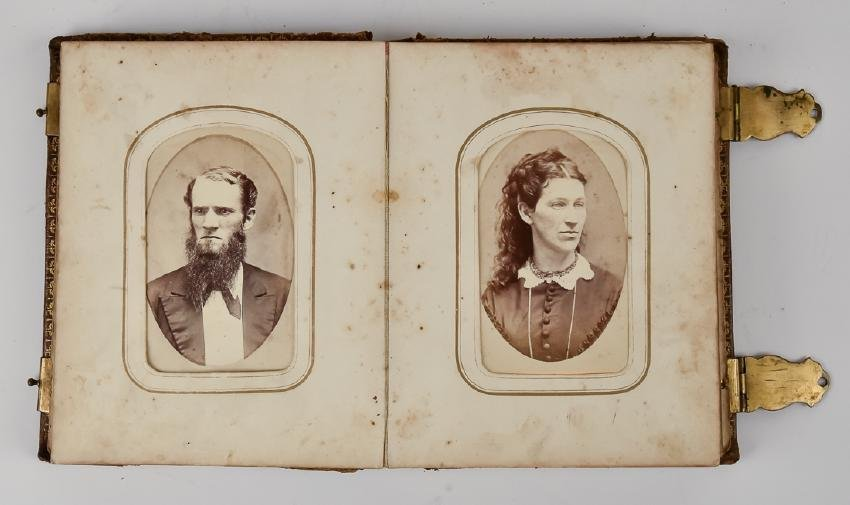 Civil War CDV Photo Album - 4