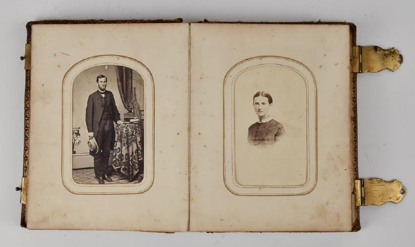 Civil War CDV Photo Album - 6