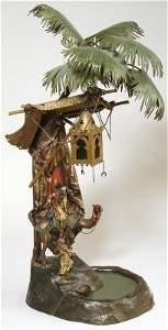 138: Franz Bergman Scenic Lamp