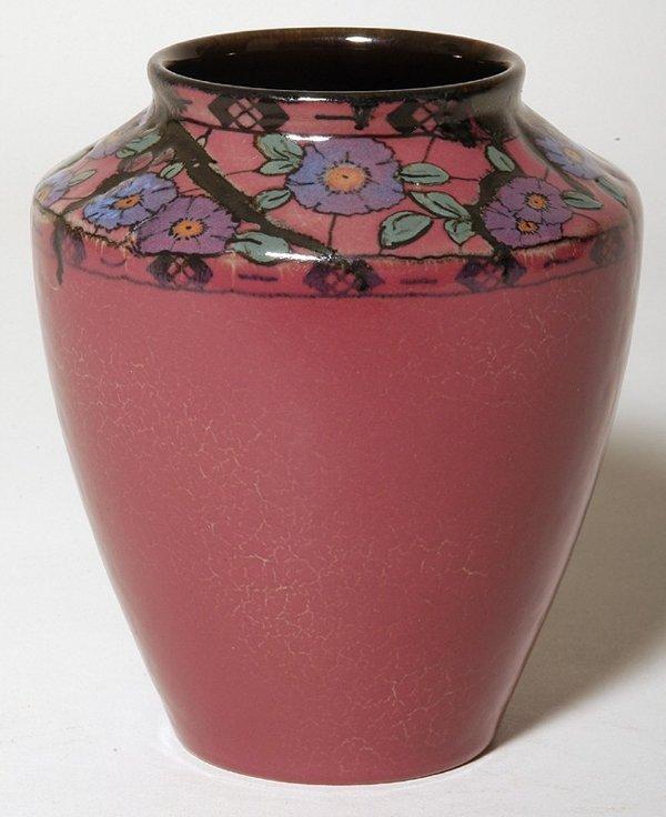 154: Rookwood Decorated Porcelain Vase