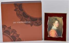 Jay Strongwater Enameled Frame in Box